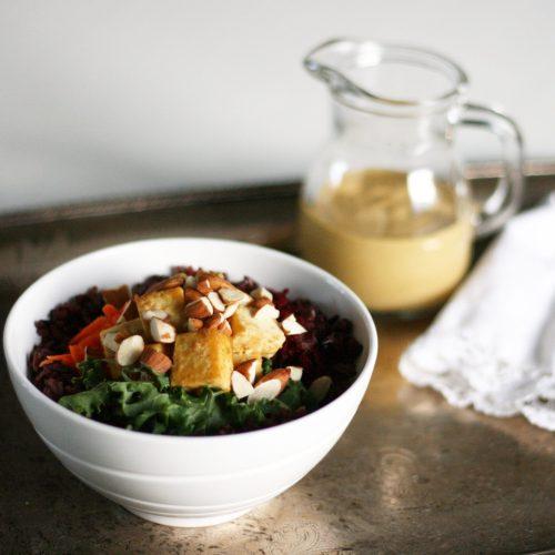 Kale Tofu Glory Bowl (Gluten-Free)
