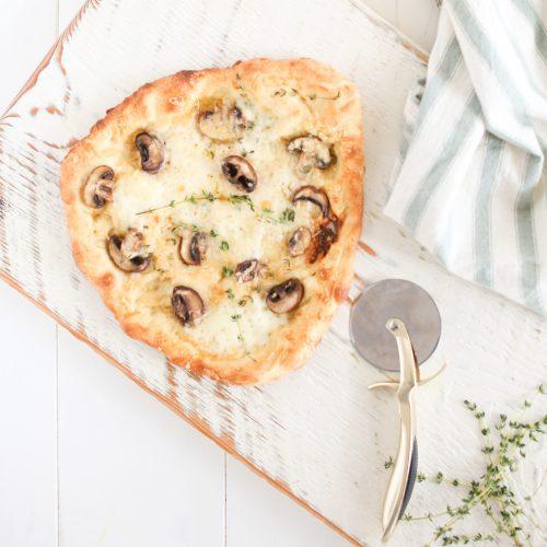 Mushroom Thyme Pizza