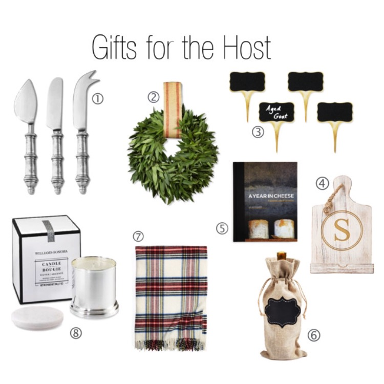 Gift guide for the host