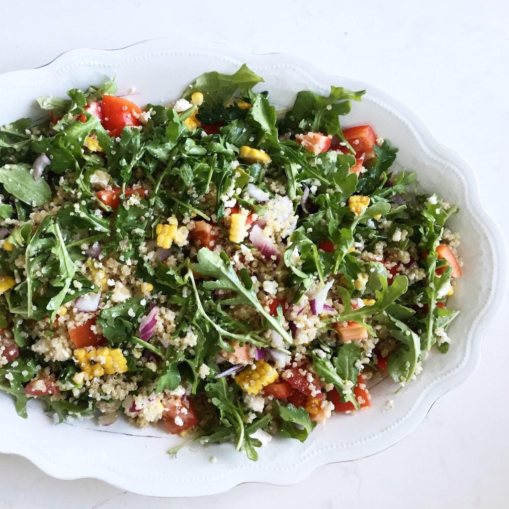 Arugula & Quinoa Salad