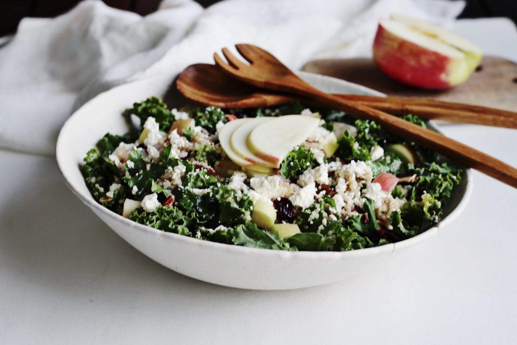 Harvest Apple Quinoa Salad (Gluten-Free)