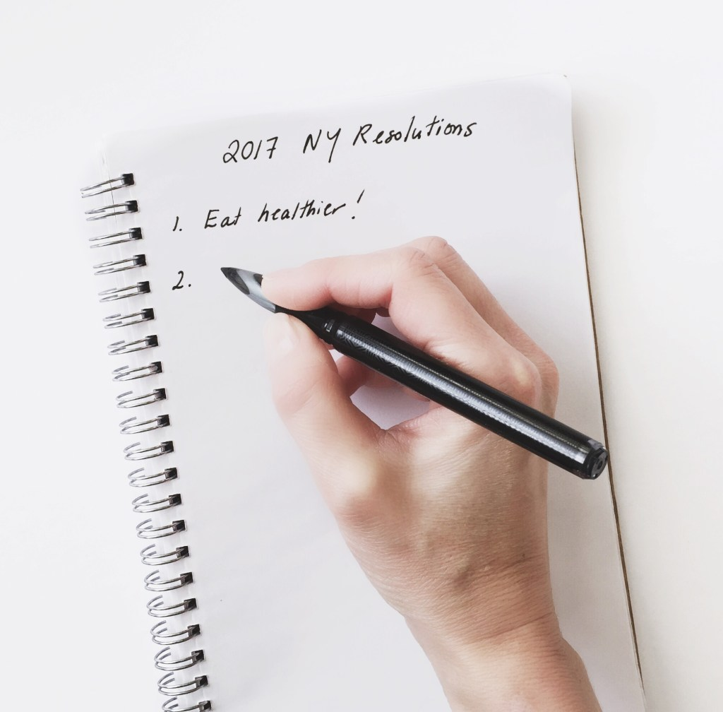 My Top 5 New Year's Nutrition Resolutions