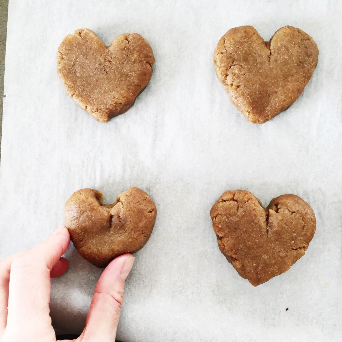 Peanut Butter Cookies Preparation