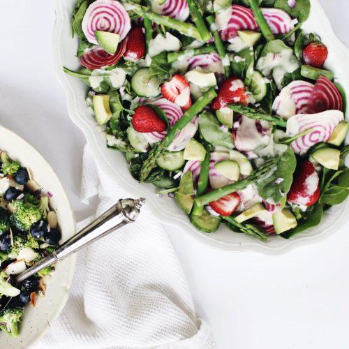 Spring Vegan Salads