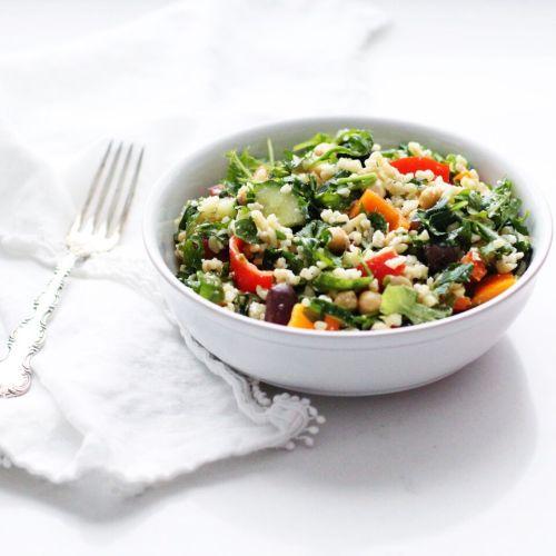 Loaded Tabbouleh (Bulgur) Salad