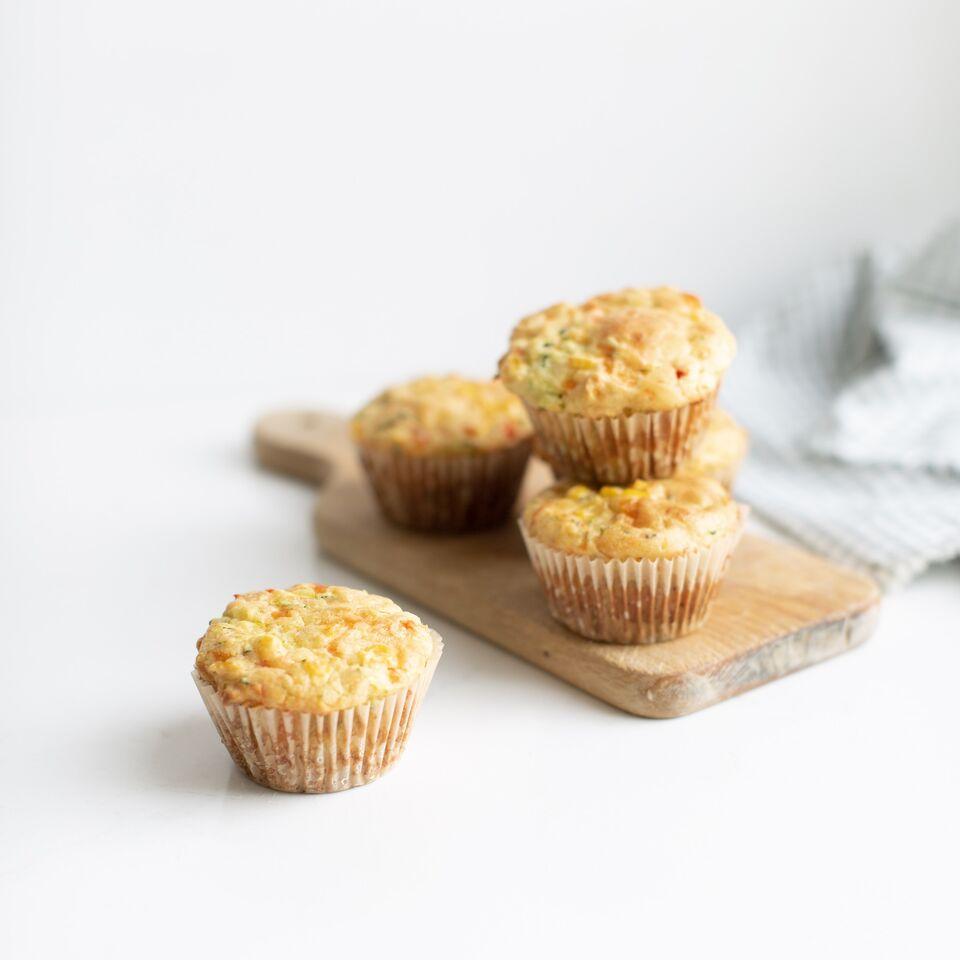 Savoury Veggie Muffins