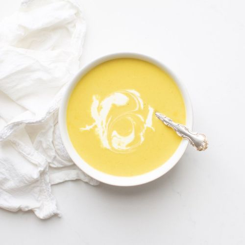 Curried Squash Soup in under an hour that is also gluten free and vegan!