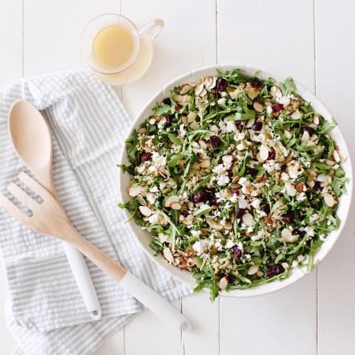Baby Arugula Quinoa Salad