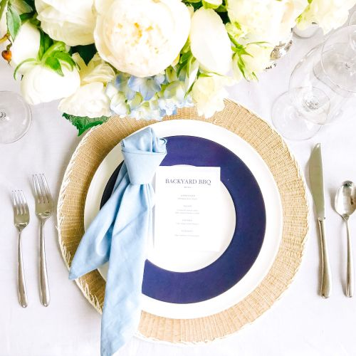 Necktie Napkins (& What to Feed Dad!)