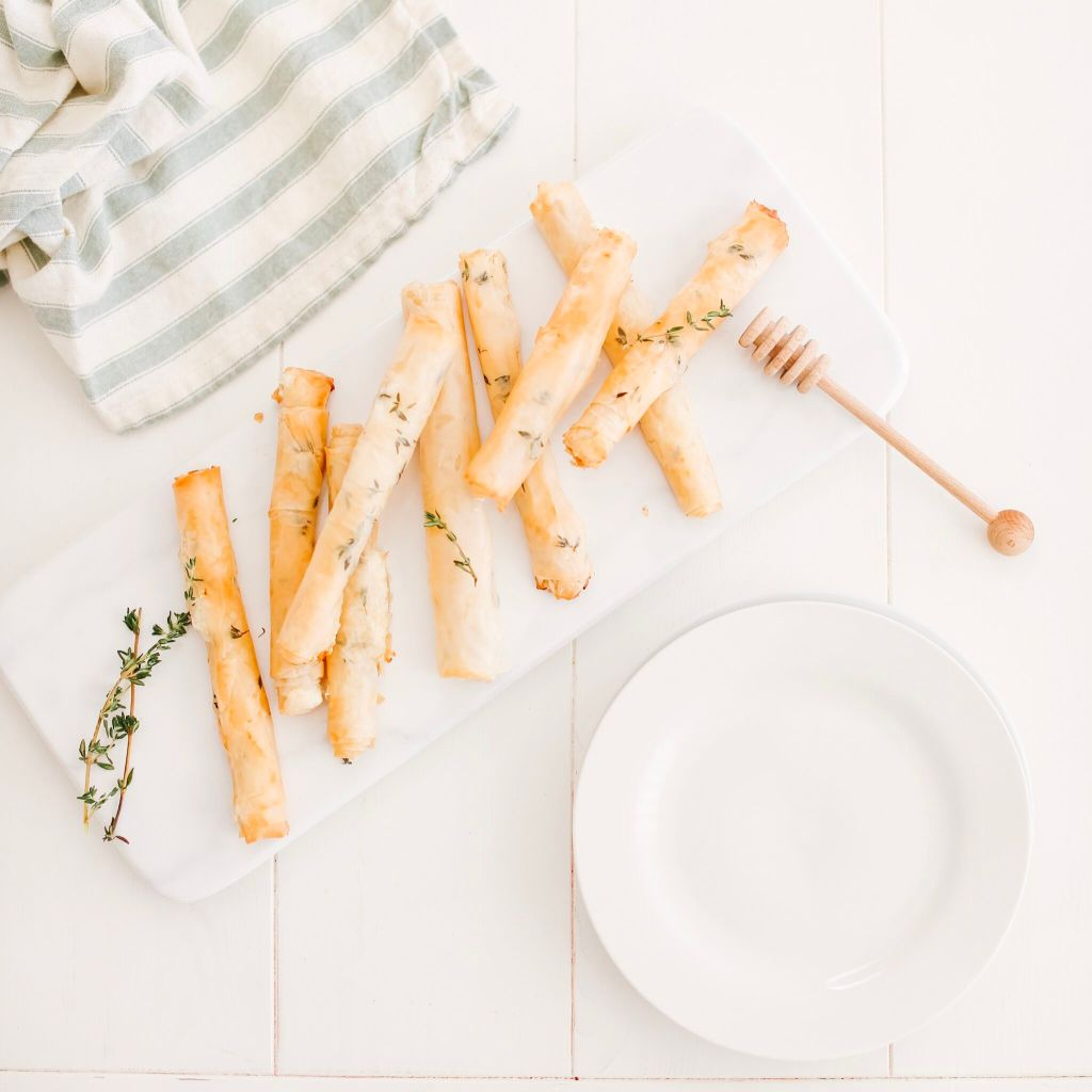 Filo Goat Cheese Cigars