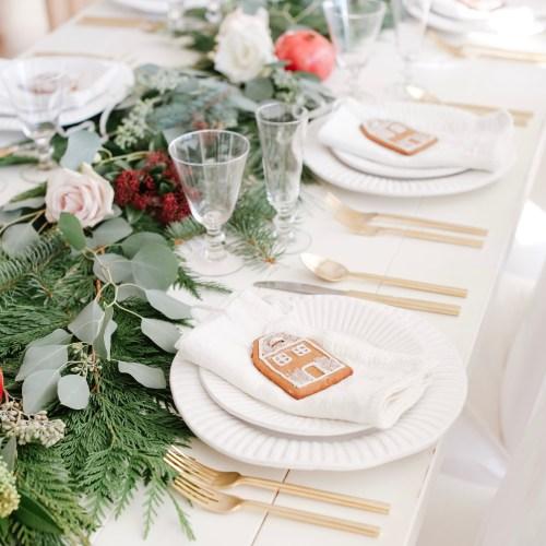 Fraîche Table: Christmas Dinner
