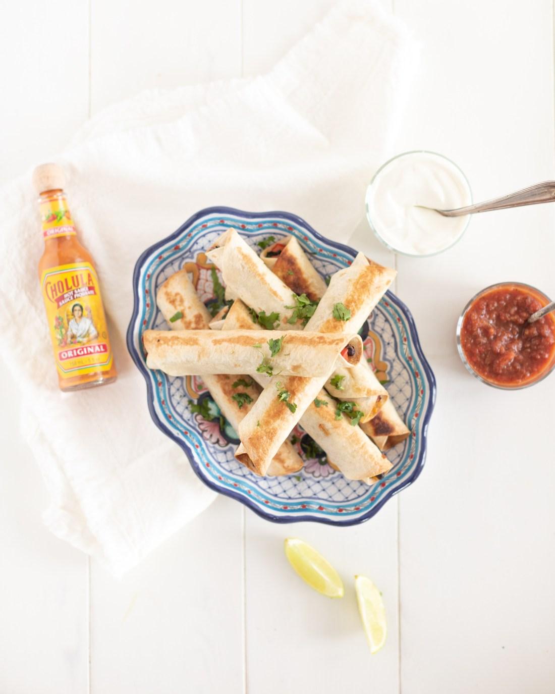 Easy Freezer Friendly Breakfast Taquitos