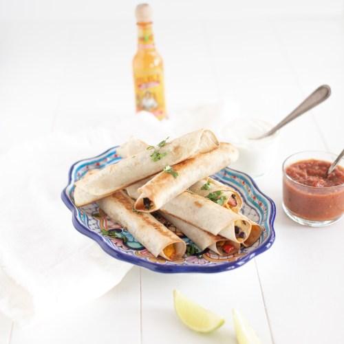 Breakfast Taquitos (Vegan & GF Option)