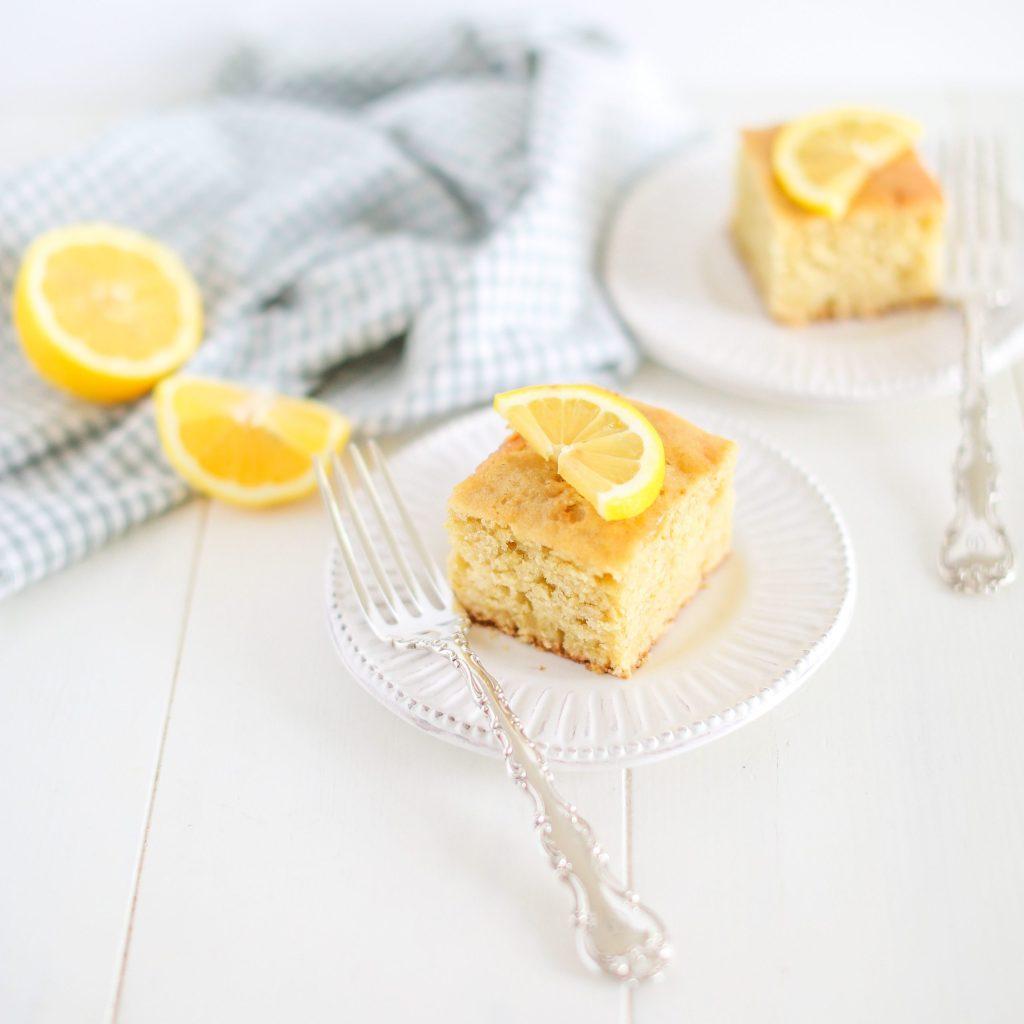Lemon Sourdough Cake and other recipes for using up sourdough discard.