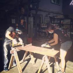 Power Tools and Woodworking: Women* Only