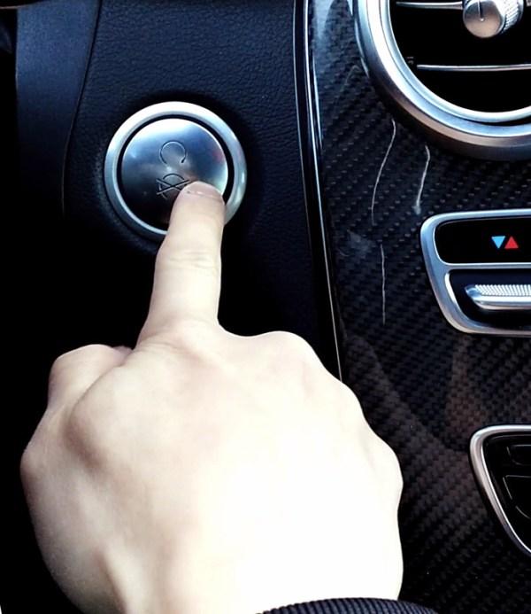 Car Keyless Start/Stop button