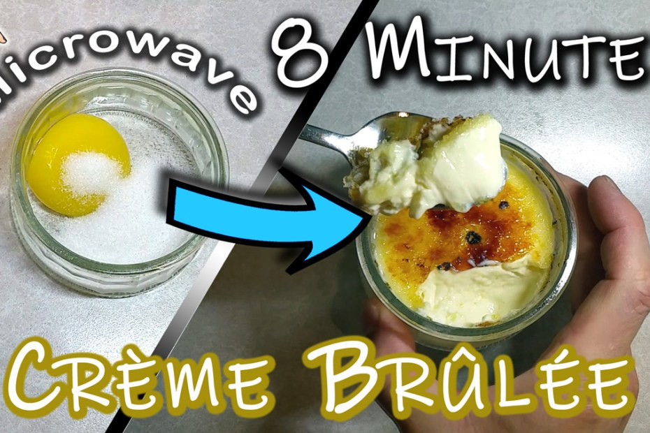 How To Make Best Creme Brulee Recipe In Microwave Make 1 2 Or More No Bake Real Tasty Dessert Frakking Creations