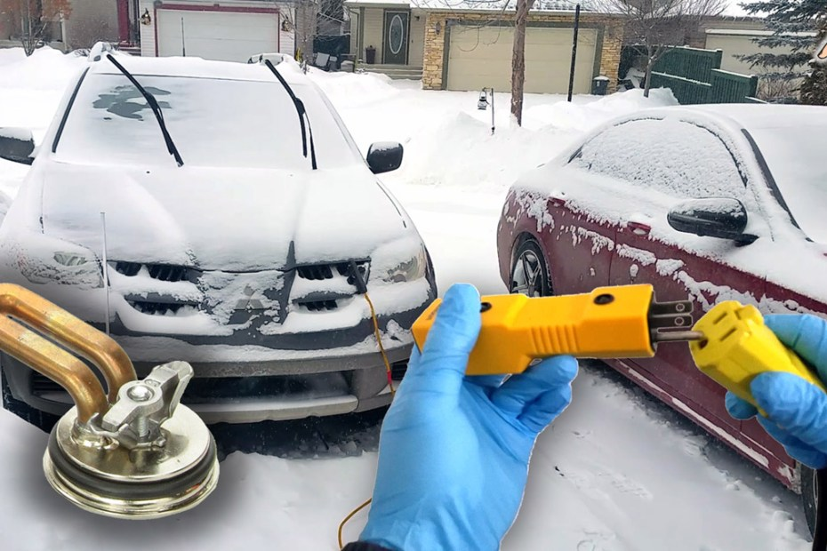 Blog_Cars_Car won't start. Do you need Engine Block heater, How it works, How long to plug in, Is it working