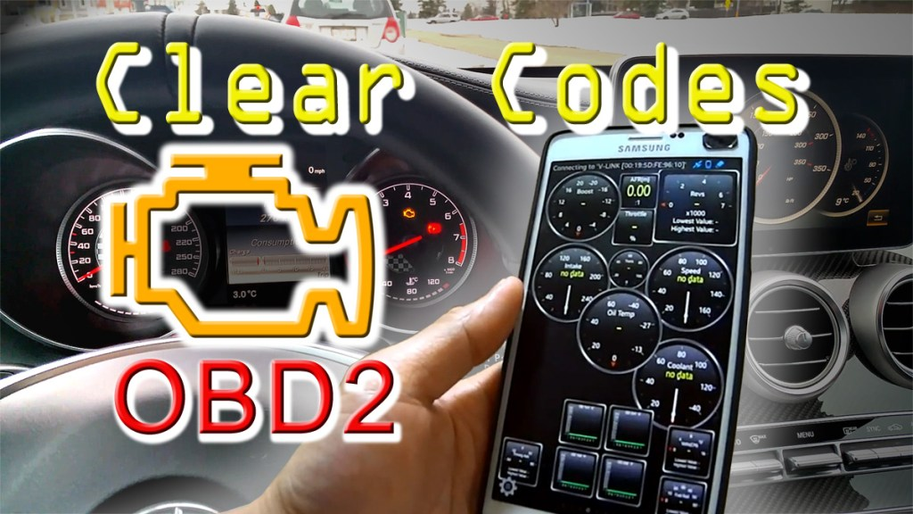 Blog_Cars_How-to reset Check engine light - Clear codes with smartphone app + OBD2 Bluetooth adapter