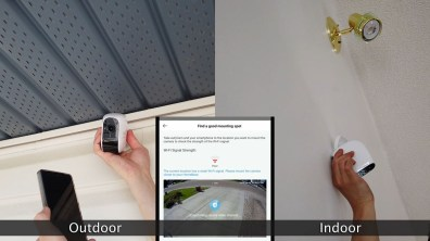 Installing Wire-free eufyCam E security cameras outdoors/indoors