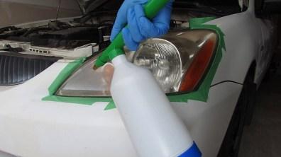 Pressurized spray bottle