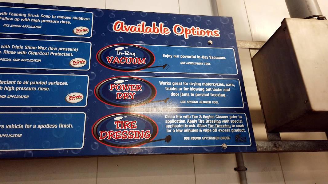 Self-serve car wash options 2