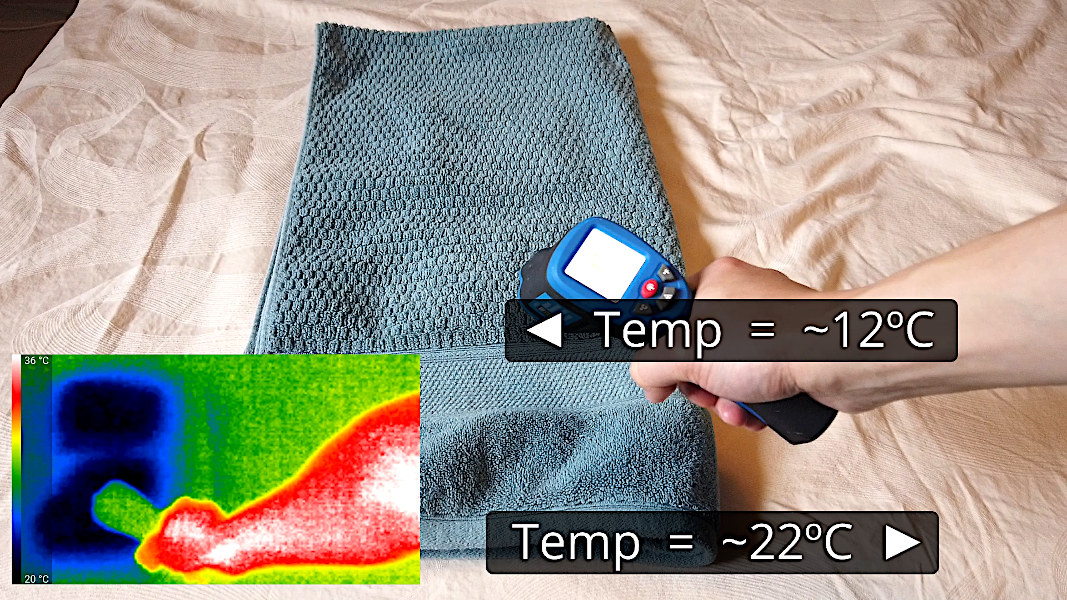 Checking the temperature of the bed cooling hack