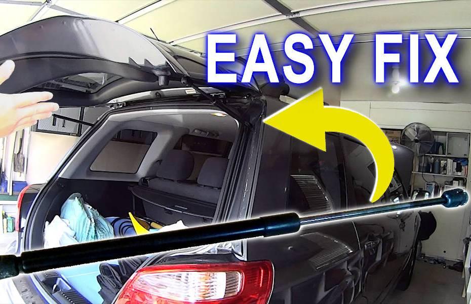 Blog_Cars_Easy Cheap Hatch Hood Trunk Fix - Fast Gas Strut Lift Support replacement DIY
