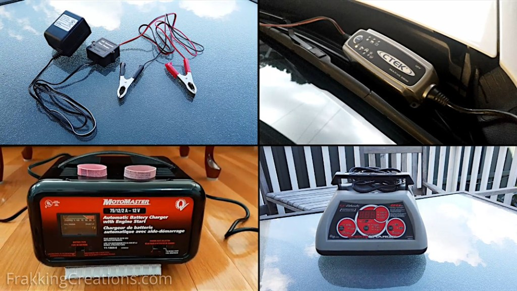 3 types of car battery chargers to use for charging your car battery