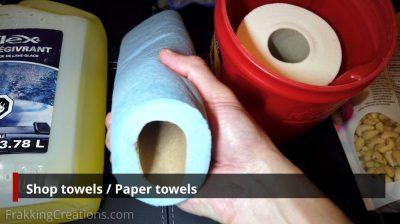 Shop / Paper towels for car emergency kit