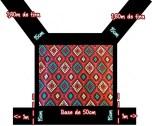 carregador mochila meitai preto tribal 2