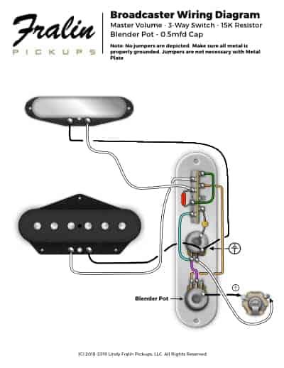 Fender Telecaster Wiring Diagram : fender, telecaster, wiring, diagram, Wiring, Diagrams, Lindy, Fralin, Guitar