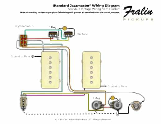 Guitar And Bass Wiring Diagrams