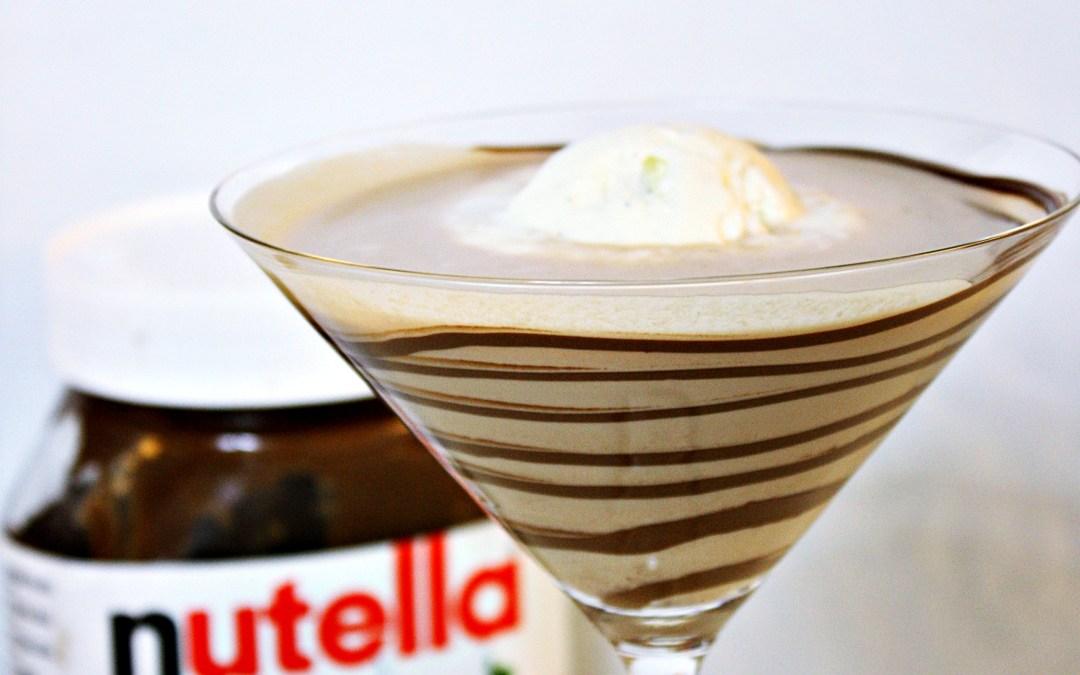 En gräddig cocktail med smak av smörkola och nutella.