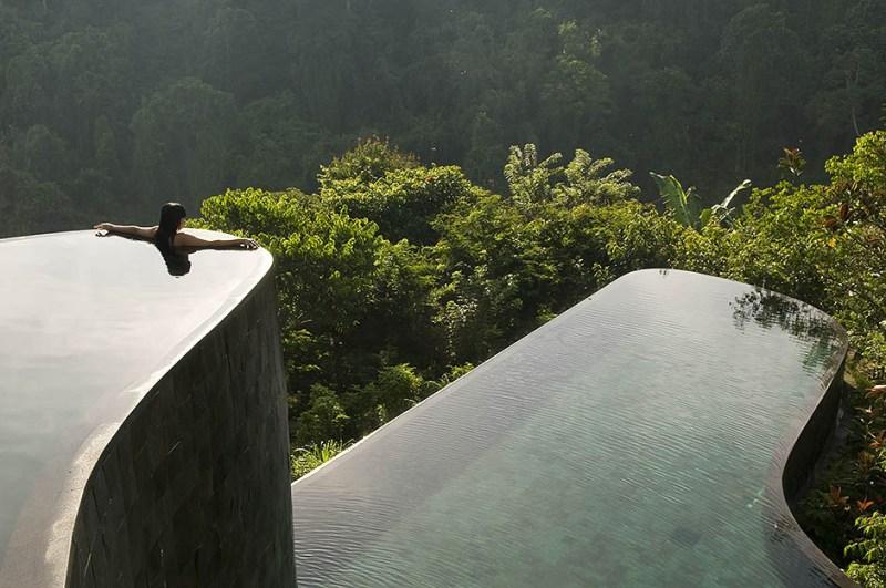 Indonesia, Bali, Gianyar, Buahan Payangan, Ubud Hanging Gardens