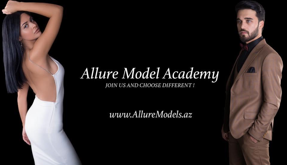 Allure Model Academy-i seç və fərqliliyi hiss et!