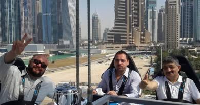 """Nümayəndə heyyətimiz Dubay Turizm Departamenti tərəfindən keçirilən """" Dubayın dadı"""" qida festivalında ekspert qismində iştirak edib"""