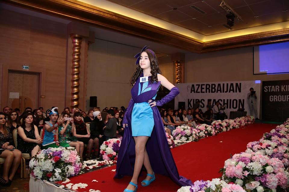 Möhtəşəm Kids Fashion Show baş tutdu
