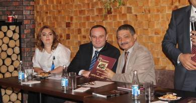 «Сказання про азербайджанську кухню» kitabının təqdimat mərasimi keçirilib