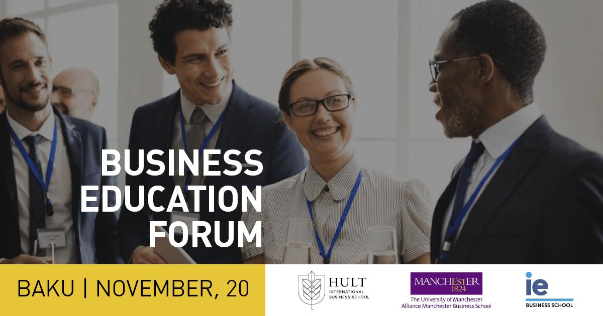 20 Ноября состоится Бизнес форум в Баку