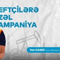 Neft sektoru əməkdaşlarına Tam KASKO sığortası üzrə 40% özəl endirim kampaniyası!