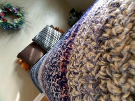 Blanket closeup
