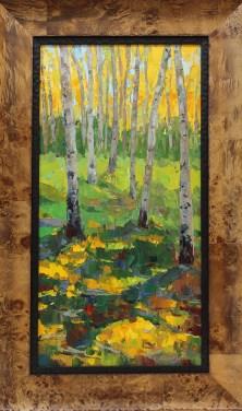 Russell Johnson oil painter Prescott Greeting Card