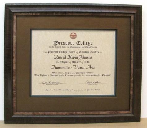 frame your diploma