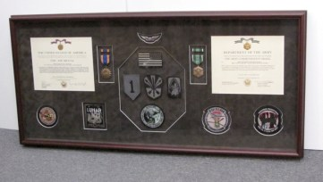 Air Medal Patches and Army Commendation
