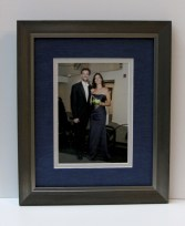 Couple Photo- Silk Blue