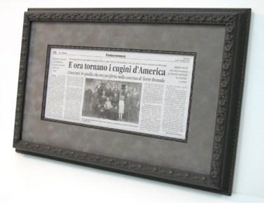 Italian News Article