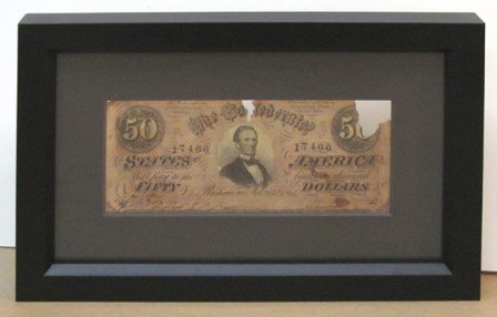 Fifty Dollar Bill -1861