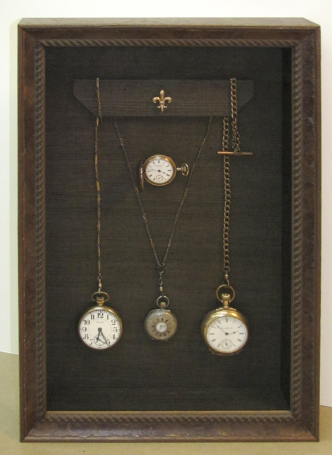 Custom Framed collectible Pocket Watches