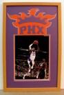 custom framed Phoenix Suns signed photo